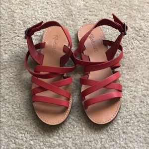 Madewell Boardwalk Multistrap Sandal